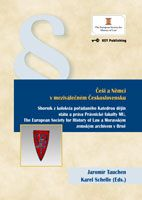 Jaromír Tauchen, Karel Schelle (Eds.) Češi a Němci v meziválečném Československu