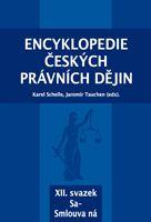 Karel Schelle, Jaromír Tauchen (eds.) Encyklopedie českých právních dějin, XII.svazekSa - Smlouva ná