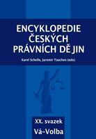 Karel Schelle, Jaromír Tauchen (eds.) Encyklopedie českých právních dějin, XX.svazekVá-Volba
