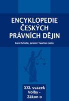 Karel Schelle, Jaromír Tauchen (eds.) Encyklopedie českých právních dějin, XXI.svazekVolby - Zákon o
